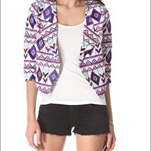 Rory Beca Aztec Embroidered Jacket